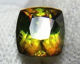 1.70 Ct Color Change Green Sphene Chrome Sphene