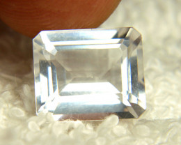 5.42 Carat Milky White Goshenite Beryl - Beautiful