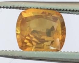 Pretty 1.10ct Cushion Cut Ceylon Yellow Sapphire  NR33