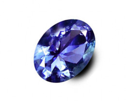1.53 ct Gorgeous Top Color IF Natural Tanzanite