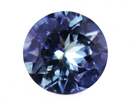 1.05 ct Gorgeous Top Color IF Natural Tanzanite