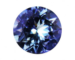 1.05 ct Gorgeous Top Color IF Natural Tanzanite Certified