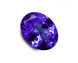 1.33 ct Gorgeous Top Color IF Natural Tanzanite