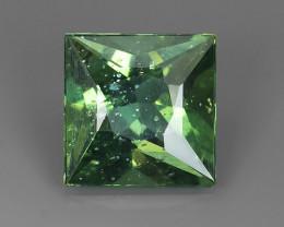 ~3.25Ct_Madagascar_Natural_Bottle Green Hue_Sqare Cut_Apatite!!