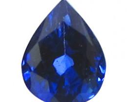 0.44 ct Rich Royal Blue Pear Shape Blue Sapphire