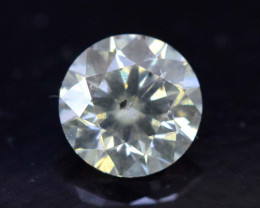 Certified  0.52 Carats Round Cut Natural WHITE DIAMOND loos