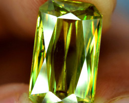 5  Carats Radiant Cut Full Fire Sphene Titanite Gemstone