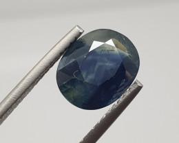 4.86 Bicolor Blue Green Sapphire 11.7x9mm(SKU 64)