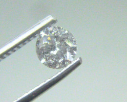 0.60ct  H - I1 Diamond , 100% Natural Untreated