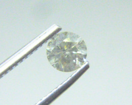 0.555ct M-SI3  Diamond , 100% Natural Untreated