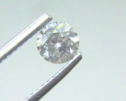 0.55ct  I-I1 Diamond , 100% Natural Untreated