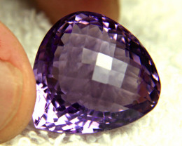 40.08 Carat Brazilian VVS Grape Amethyst - Gorgeous
