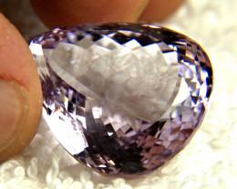 38.5 Carat VVS Light Purple Brazil Amethyst - Gorgeous