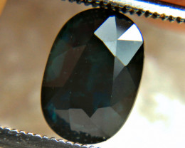 3.16 Carat Midnight Blue Natural Sapphire - Gorgeous