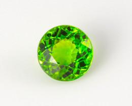 Green Chrome Tourmaline 0.49 ct Brazil GPC Lab