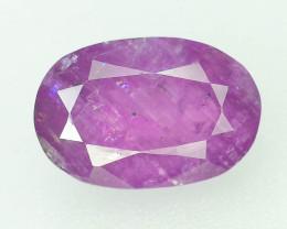 Top Grade 3.20 ct Rarest Pink Corundum Sapphire~Kashmir