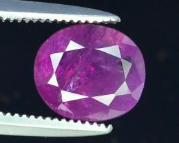 Top Grade 1.70 ct Rarest Pink Corundum Sapphire~Kashmir