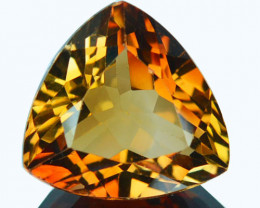 Top Grade 9.08Ct NAtural South American Topaz Trillion
