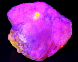 601 CT Natural -UV Light Color Change  Purple Hackmanite Specimen