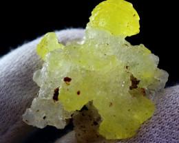 58.20 CT Natural Unheated Rare Yellow Brucite Specimen