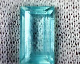 6.10 CT Natural & Unheated Blue Aquamarine Gemstone
