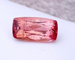 3.40 Ct Natural Rubellite Transparent Tourmaline Gemstone