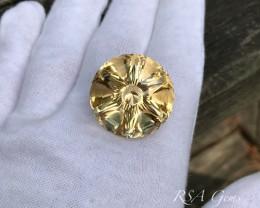Scapolite -85.3 carats, Original Design