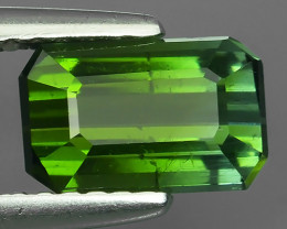 1.50 CTS~EXCELLENT NATURAL NICE GREEN TOURMALINE OCTAGON~ NR!!