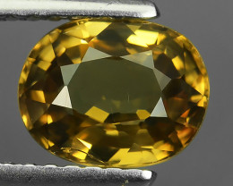 2.00 CTS~TOP LUSTROUS NATURAL CAMBODIA OVAL~RARE COLOR ZIRCON!!