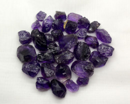 360 Ct Rough Amethyst From Africa