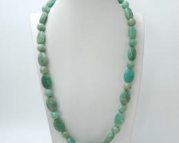 Long Amazonite Necklace, Natural Amazonite ,Healing Stone C184