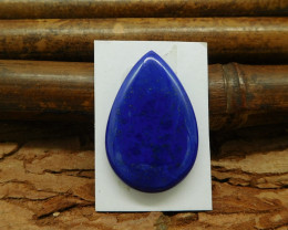 Natural gemstone lapis lazuli teardrop cut cabochon bead pear shape cabocho
