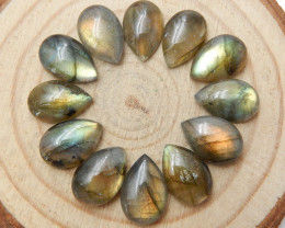 36.5cts Labradorite Oval Cabochons ,Healing Stone ,Summer Gemstone C203