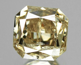 Natural Champagne Diamond - 0.655 ct
