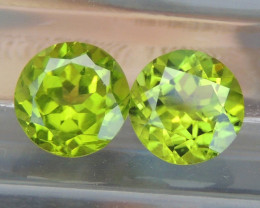 8mm Peridot Calibrated Untreated