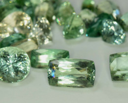 NR - 211.55 cts LOT OF Lush Green full Deep Color Spodumene