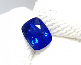 NO HEAT 1.01 CTS CERTIFIED NATURAL STUNNING ROYAL BLUE SAPPHIRE SRI LANKA