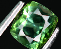 1.40  carats bluish green color Tourmaline Gemstone From Afghanistan n