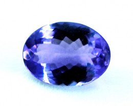 1.04 ct Gorgeous Top Color IF Natural Tanzanite