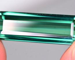 Brilliant Color 10.35 Ct Natural Bluish Green Tourmaline