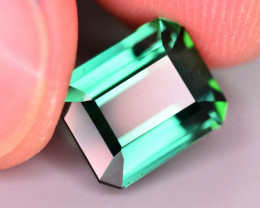 Gorgeous Color 6.20 Ct Natural Indicolite Tourmaline AT2