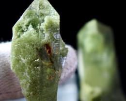 191 CT Natural - Unheated  Green Chlorine Quartz Crystal Specimen