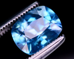 Top Quality 2.90 Ct Natural Vibrant Blue Zircon