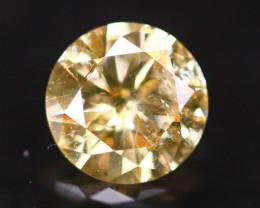 0.31Ct Brown Fancy Diamond Natural Round Brilliant Cut Diamond A2206