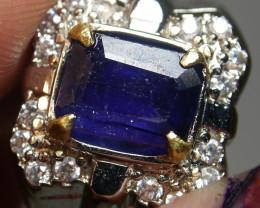46.35 CT Natural Blue Sapphire Gemstone Jewelry