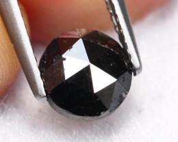 1.24Ct Natural Rose Cut Black Diamond RARE EB2303