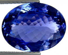 1.36 ct Gorgeous Top Color IF Natural Tanzanite