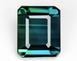 1.57 Ct Natural Bluish Tourmaline Top Quality Gemstone. TM 15