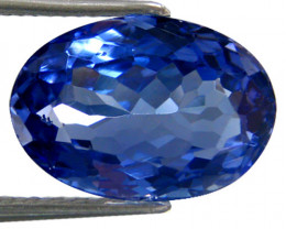 1.78 ct Gorgeous Top Color IF Natural Tanzanite