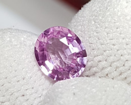 NO HEAT 1.26 CTS NATURAL STUNNING PINK SAPPHIRE FROM SRI LANKA